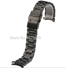 Nuevo reloj para hombre de la correa de la pulsera banda de acero inoxidable 18 mm 20 mm 22 mm 24 mm