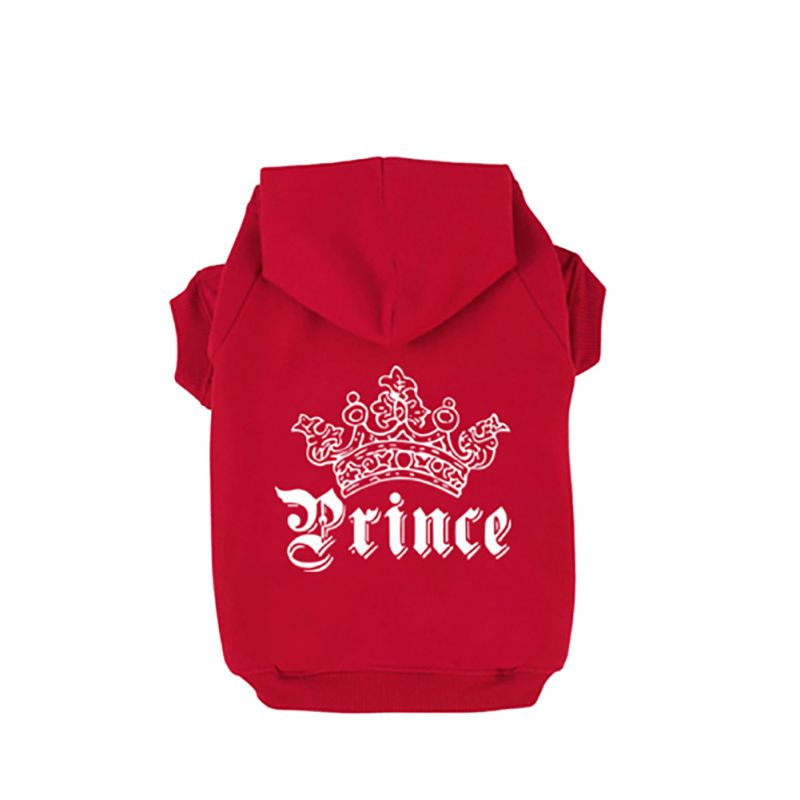 Trajes Princesa Princesa Corona Impreso Pet Dog Sweater Dog Hoodies - Productos animales - foto 4