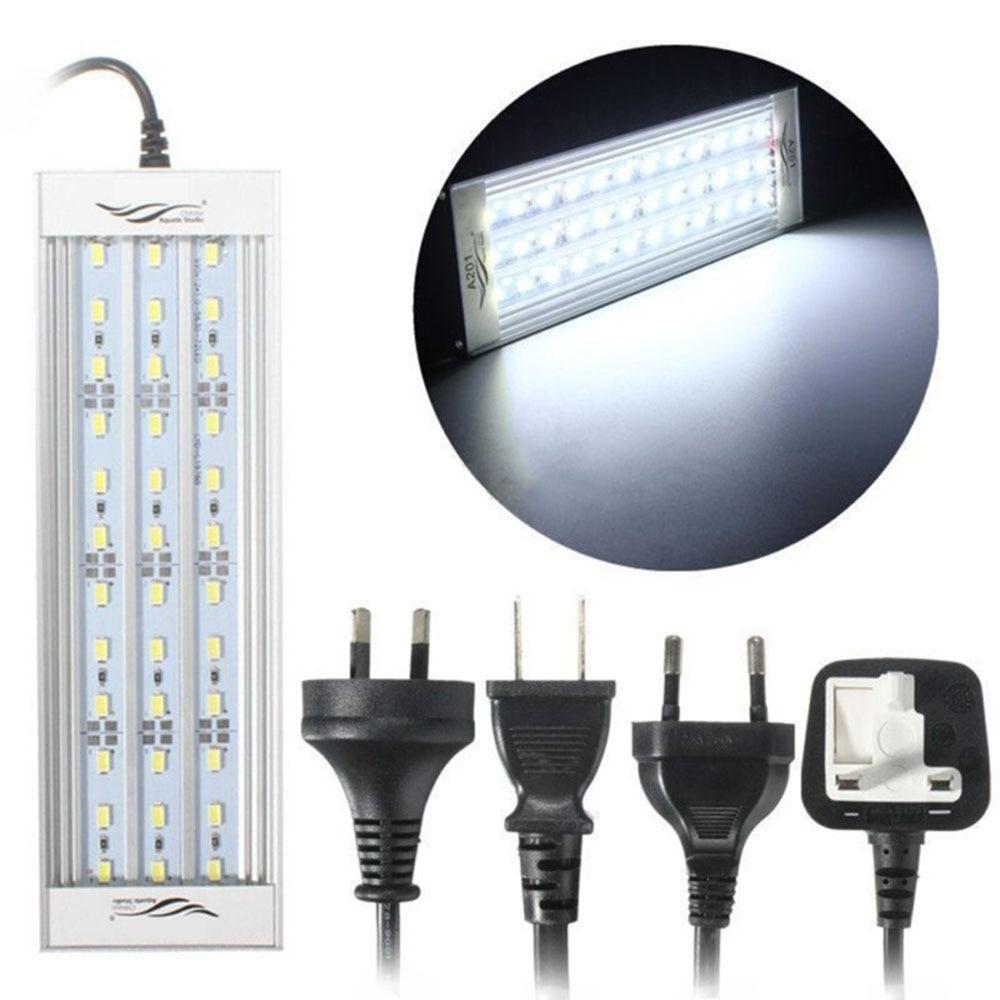 Aquarium LED Lid Lighting Fish Tank Light Lamp Plants Grow Light For Fish Aquatic Plant Tank 30-60cm 18-39W Lamp US/EU Plug