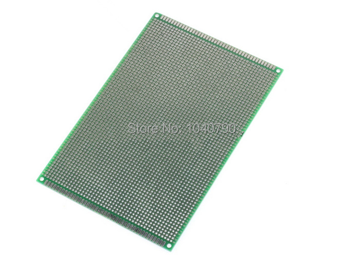 Free Shipping 15*20cm  Double Sided  PCB Printed Circuit Board Prototyping FR-4 Glass Fiber Universal Double Circuit Board