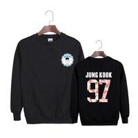 New KPOP Korean BTS 2th Album WINGS Bangtan Boys Hip Hop HipHop Monster Cotton Hoodies Clothes