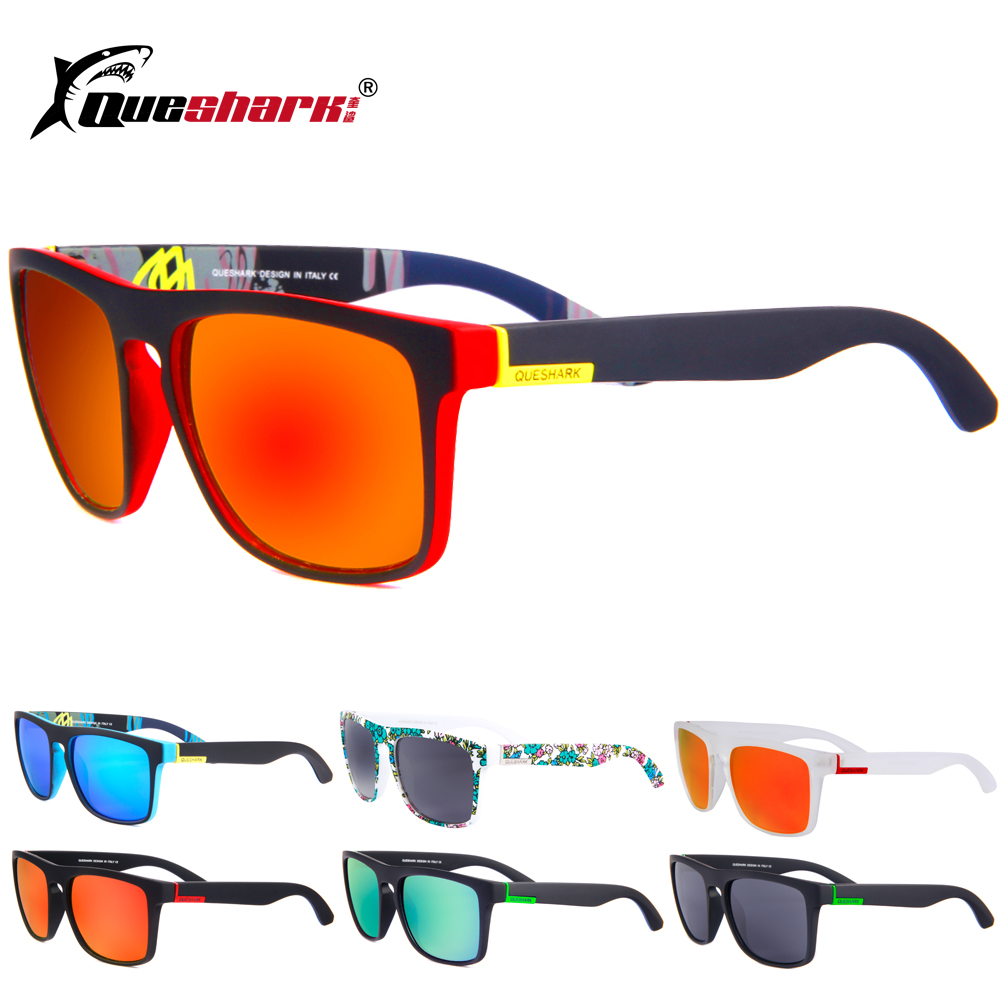 Men Women Sports Polarized Cycling Sunglasses Mountain Road Bike Goggles Square