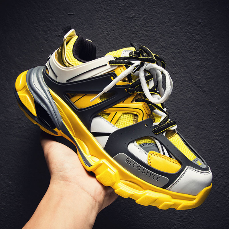 Balencia Spring Breathable Men Running Shoes Outdoor Sport Shoes Men Lightweight Sneakers Male Krasovki SUROM New Fashion Shoes