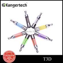 Original Kanger T3D Atomzier Rebuidable Changeable Dual Coil Colourful T3D Cartomizer for Electronic Cigarette 5pcs/lot