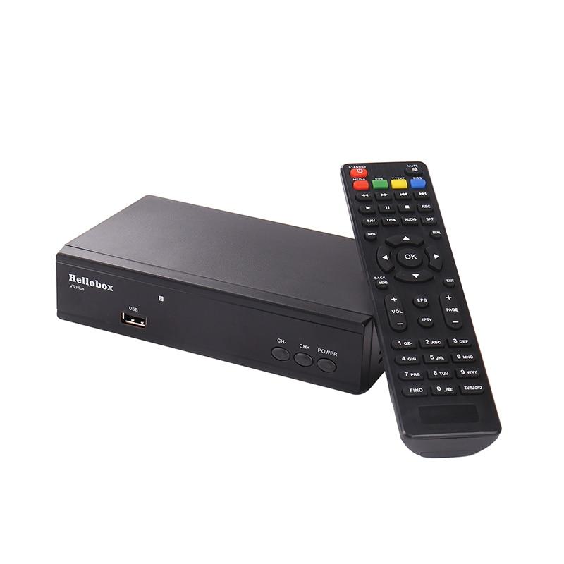 Hellobox V5 Plus Satellite Receiver 3 Months Free IPTV PowrVu IKS Biss  fully autoroll DVBS2 SCAM+ 2 Year TV BOX