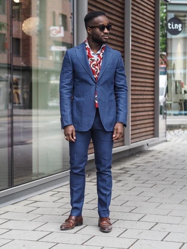 Aliexpress.com : Buy 2017 Latest Coat Pant Designs Navy Blue Men ...