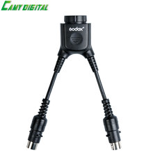 High quality Photography accessories Godox DB-02 Cable Y Adapter 2 to 1 For PROPAC Power Pack PB960 Flash AD360/AD360II/AD180