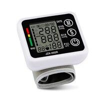 2017 Mới Chăm Sóc Sức Khỏe Đức Chip Tự Động Cổ Tay Digital Blood Pressure Monitor Tonometer Meter để Đo Và Nhịp Tim