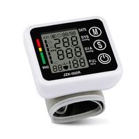 Free Shipping Wrist Blood Pressure Digital LCD Screen Heart Beat Pulse Monitor