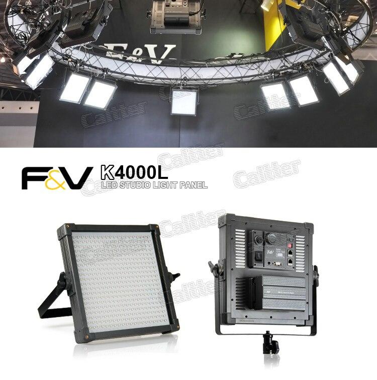 Daylight Balanced Led Studio Light: F&V K4000L Lighting 400 Pieces LED Light Daylight Balanced