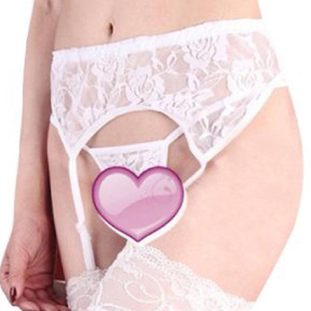 Elastic Waist Sexy Women Lace Lingerie Underwear