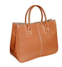 Luxus Fashion Marke Damen Satchel Bags Candy Farbe Handtaschen Pu-leder Lolita Tasche Abend-einkaufstasche Weiblichen Kette Party Handtasche