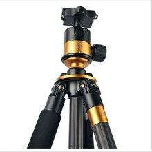 Q1000C Углеродного Волокна Профессиональный Штатив Для DSLR Q-1000C Путешествия Штативы Для Фотографа 45 мм Большой Панорамный BallHead # 30%