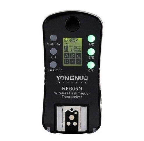 YONGNUO RF605N RF-605 Groupe Sans Fil Déclencheur Flash Émetteur-Récepteur Pour Appareils PHOTO REFLEX NUMÉRIQUES Nikon, seulement 1 pièces