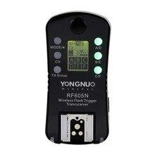 Yongnuo rf605n rf-605 grupo sem fio flash transceiver trigger para nikon dslr câmeras, único apenas 1 pcs