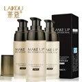 LAIKOU Blanqueamiento Flawless Full Cobertura Fulid Líquido Fundación Corrector Hidratante Aceite-control Cosméticos Maquillaje Resistente Al Agua 40g