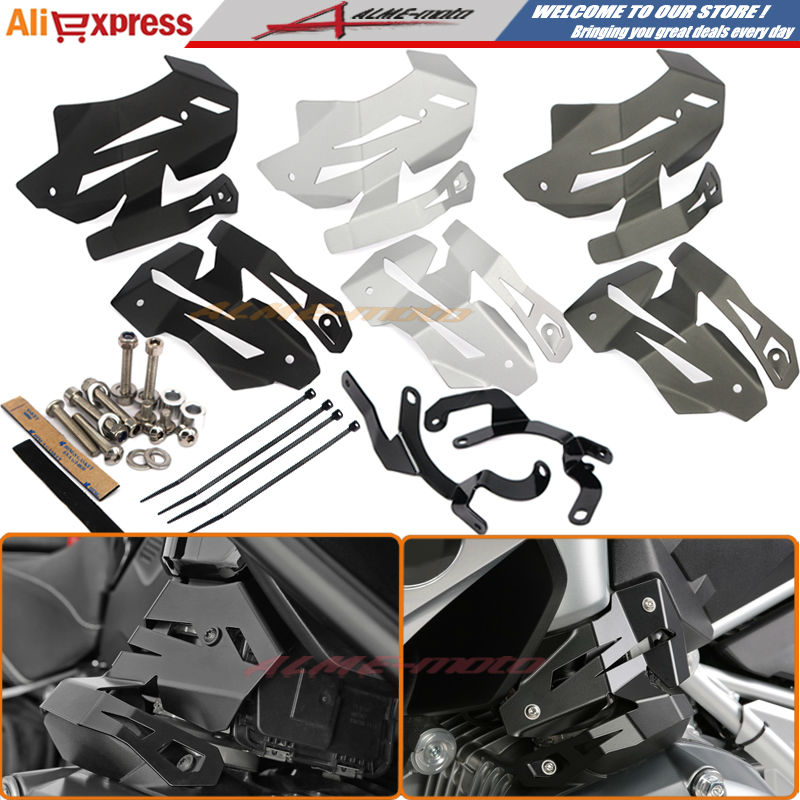 Motorcycle New Billet Aluminium Injection Cover kit Protector Guards Covers For BMW R1200GS LC 2013-2016, R1200R LC meziere wp101b sbc billet elec w p