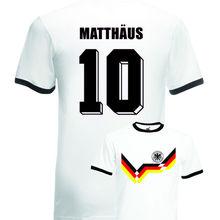 Lothar Matthaus Germany No.10 Italia 90 Mens Football Ringer