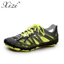 9666ffbaffe XIZI New beach sandals men s summer fashion breathable water shoes casual  lace flat shoes home slippers