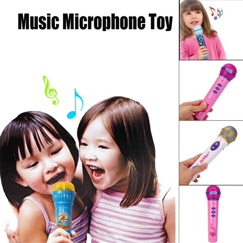 Girls Boys Microphone Mic Karaoke Singing Kids Funny Music Educational Toy Gift