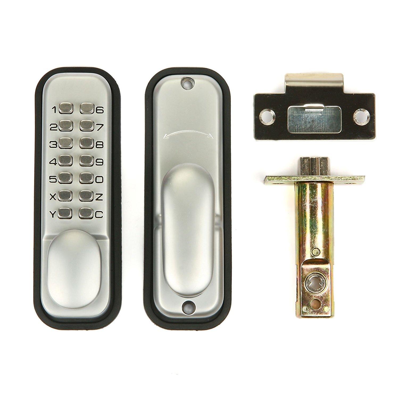Weatherproof Mechanical Keyless Password Digital Push Button Door Lock Key Pad Code Combination Access Mechanical Keyless