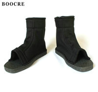 BOOCRE Anime Naruto Cosplay Shoes Uzumaki Naruto Boruto Sasuke Cosplay Shoes Black Blue Boots Shoes