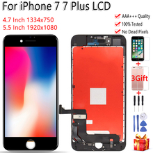 AAA LCD ต้นฉบับสำหรับ iPhone 7 A1660 A1778 A1779 จอแสดงผล LCD หน้าจอสัมผัสสำหรับ iPhone 7 Plus A1661 A1785 a1784 จอแสดงผล