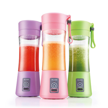 2019 New HOT SALE Rechargeable Automatic Fruit Juicer Cup Portable Electric Household Gifts Manufacturer Sales Can be Customized
