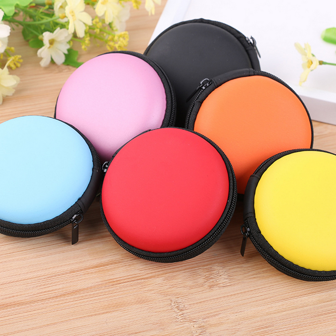 Earbud case SPINNER case Jewelry box bag SD card storage US SELLER