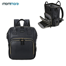 mommore Large Capacity Diaper Backpack Waterproof Maternity Nappy Baby for Mom Travel Stroller Care