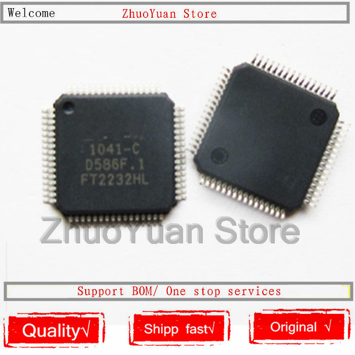 1PCS/lot FT2232HL FT2232H FT2232 LQFP-64 New Original IC Chip