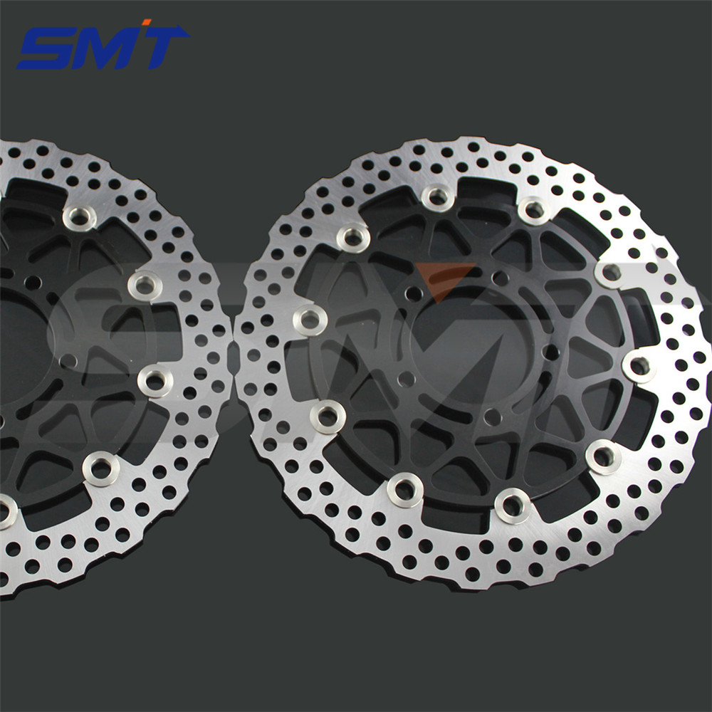 motorcycle accessories front brake disc rotor For KAWASAKI GTR 1400/ABS A8F-A9F,CAF,CBF ZG1400 2007 2008 2009 2010 2011 car rear trunk security shield cargo cover for jeep compass 2007 2008 2009 2010 2011 high qualit auto accessories