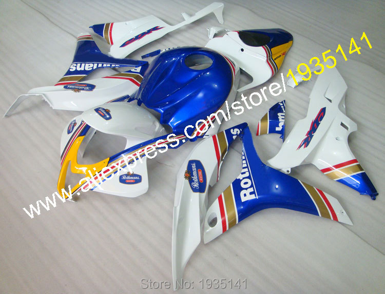 Hot Sales,For Honda CBR600RR F5 2007 2008 CBR600 RR 07 08 Rothmans ABS Custom Parts Motorcycle Fairing Set (Injection molding) hot sales for bmw k1200s parts 2005 2006 2007 2008 k1200 s 05 06 07 08 k 1200s yellow bodyworks aftermarket motorcycle fairing