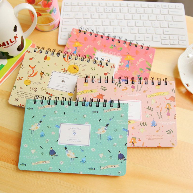 Blooming Flower Notebook Coil Planner Planner Mingguan Agenda Diary Book Stationery Papelaria Material Escolar Office Supplies