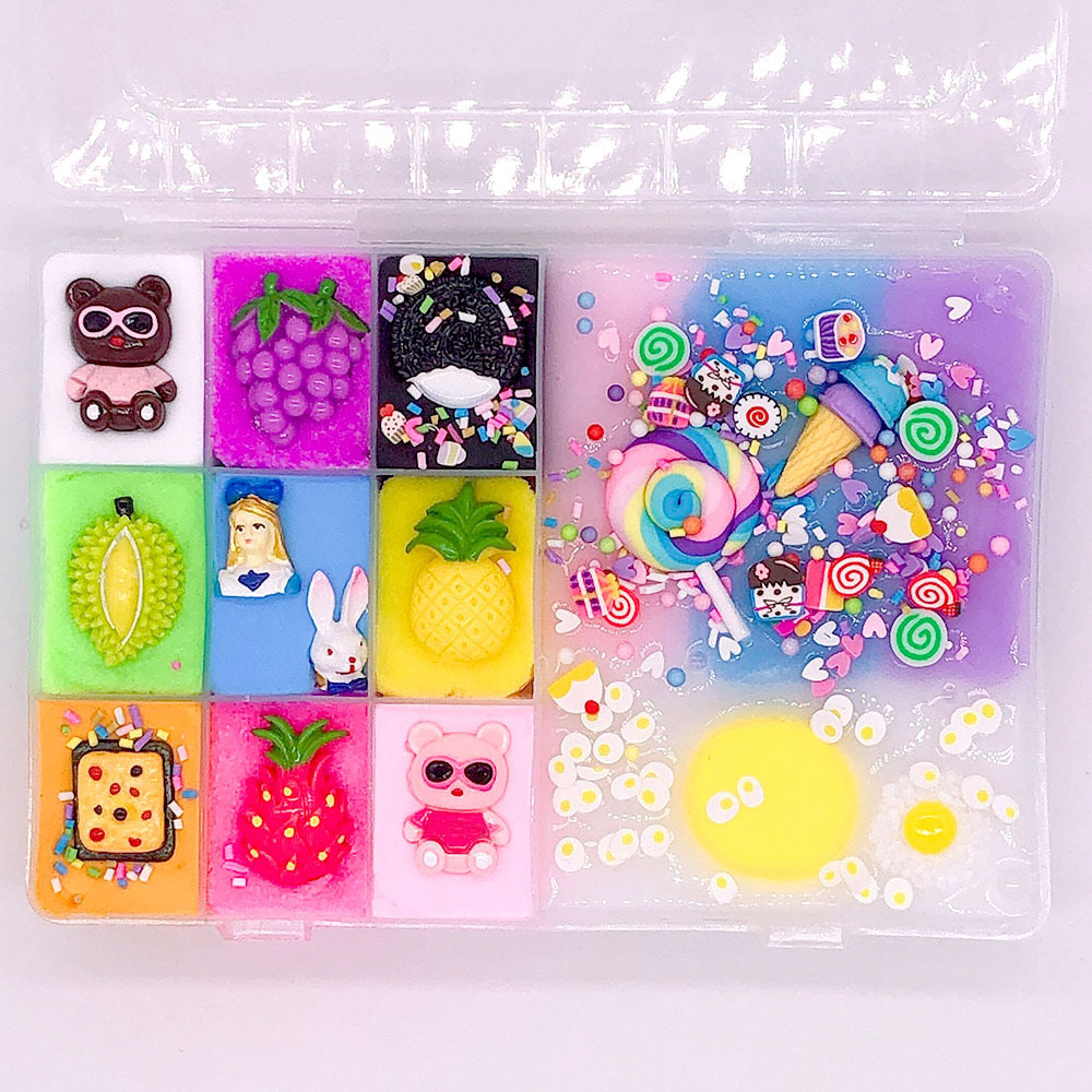 Slime charms 30g Slime Toys Supplies Charms Plasticine Gum Polymer Clay 17