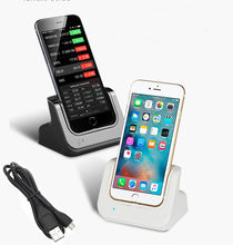 Desktop Dock Charger For Apple iPhone 6 6s/Plus 4.7″/5.5″ Docking Station Data Sync Charging Charge Cradle with Indicator Light