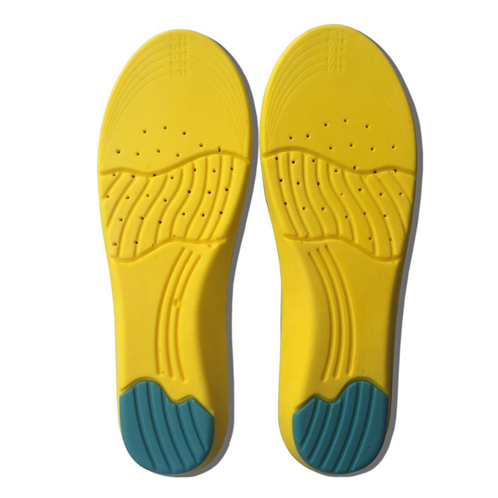 1Pair Comfort Cushion Foot Care Shoe Pad Silicone Gel Deodorant Ortic Insoles antibacterial Sport Insoles popular Worldwide sale