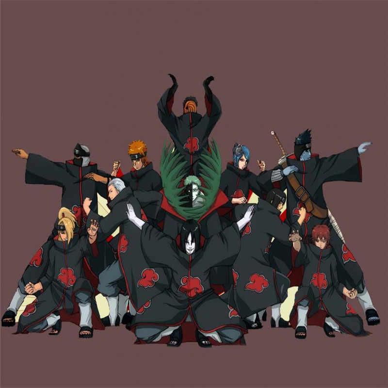 Klasik Anime Naruto Cosplay Kostum Akatsuki Uchiha Itachi Shuriken Dahi Headband Aksesoris Cocok untuk Aksesoris Cosplay Aksesoris Cosplay