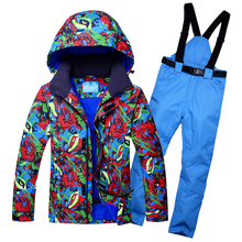 Ski Suit Men Winter Waterproof Windproof Jacket And Pants Male New Arrival Fashion Gentlemen