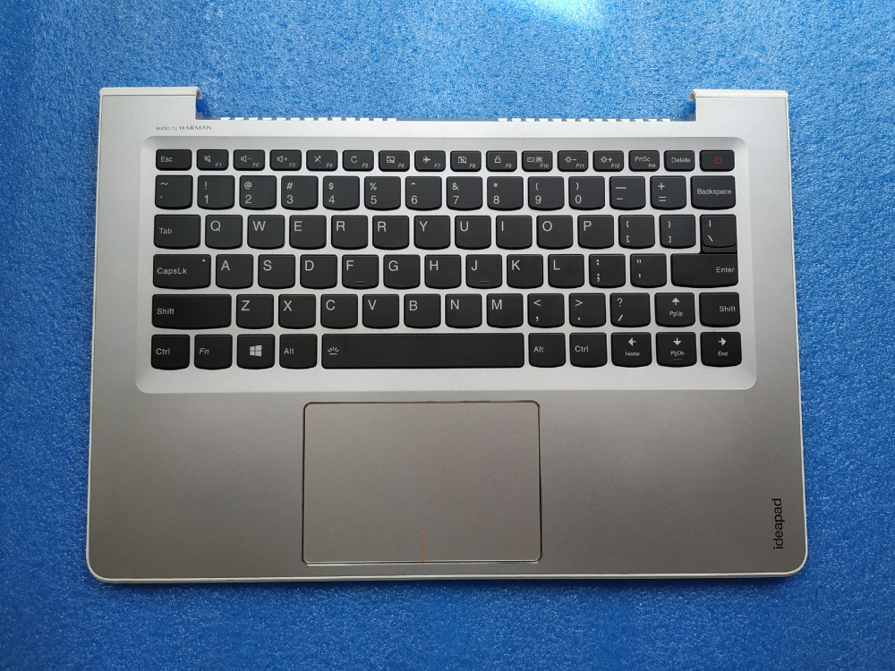 orig for lenovo ideapad 510S-13 510S-13IKB 510S-13ISK US keyboard bezel Palmrest topcase Upper cover Silver  orig for lenovo ideapad 510S-13 510S-13IKB 510S-13ISK US keyboard bezel Palmrest topcase Upper cover Silver
