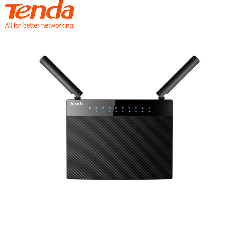 Tenda AC1200 Dual Band WiFi Router High Speed Wireless Internet Router with Sma