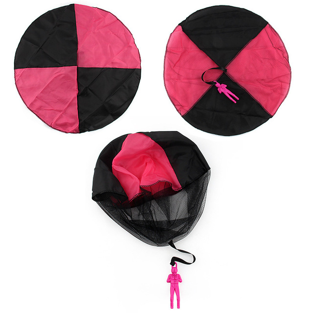 Kid's Outdoor Hand Throwing Parachute Toy
