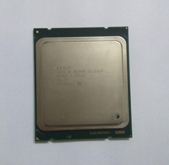 Intel Xeon octa core processeur E5 2660/sr0kk C2 L3 Cache 20 M/2.2/GHz/8.00 GT/s LGA 2011 socket, ont une e5 2670 e5 2680 vente