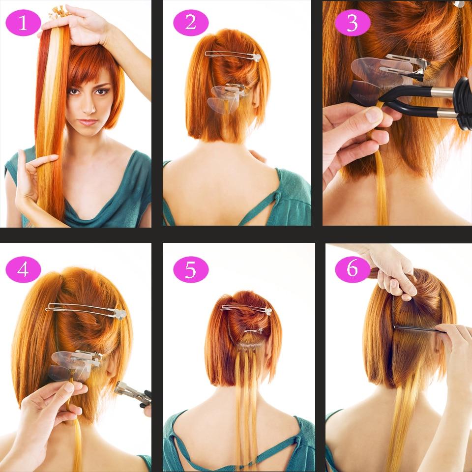 Kit completo profesional Extensión de cabello Herramienta de hierro - Cuidado del cabello y estilo - foto 6