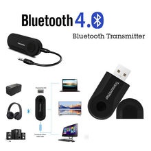 Wireless Bluetooth Transmitter Stereo Audio Music Adapter for TV Phone PC Y1X2 usb adapter mini and light-weight Drop Shipping(China)