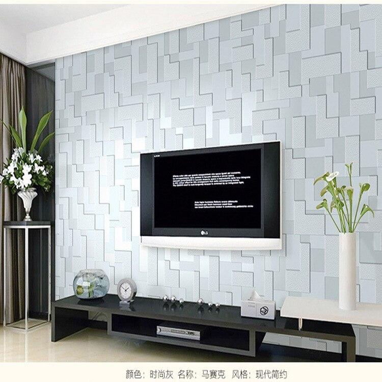 Pain is de parede da tev vender por atacado pain is de for Sala de estar com papel de parede 3d