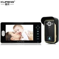 Wireless Video Doorphone Digital Doorbell Intercom Wide Angle IR Night Vision Security Door Camera Free Shipping