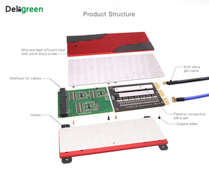 Image 3 - 13S 80A 100A 120A 150A 200A 250A 48V PCM PCB BMS עבור 3.7V LiNCM סוללות DIY18650 lithion סוללה חבילה עם balanceDeligreen