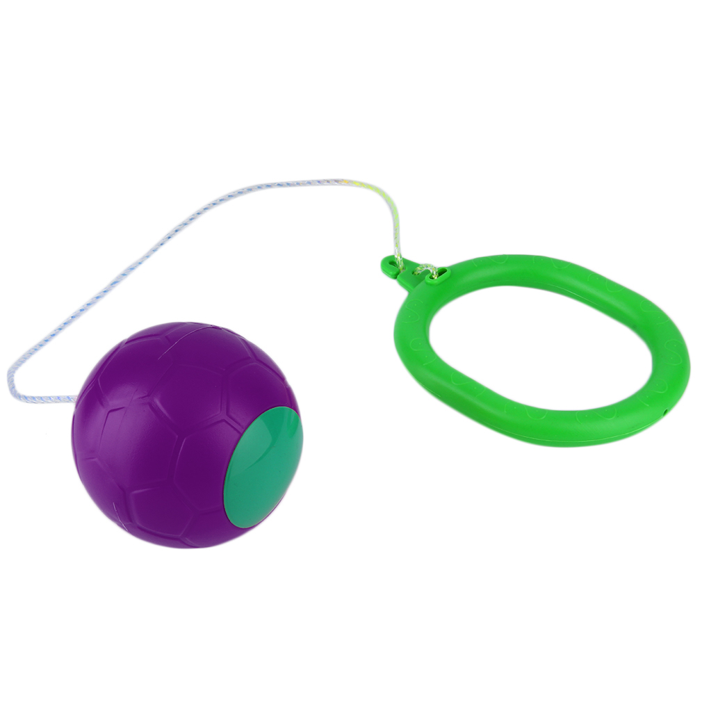 6 Colors Skip Ball Outdoor Fun Toy Balls Classical Skipping Toy Fitness Equipment Toy