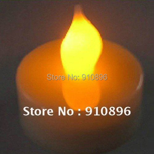 Wholesale 12pcs Yellow Light LED Candle Wedding Party Xmas Decor for Bar,Holiday Decoratio+Free shipping